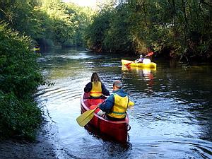 Location de canoë kayak en Thiérache sur l'Oise et le Ton